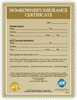 Home alarm safety your local adt security dealer for Fire alarm installation certificate template